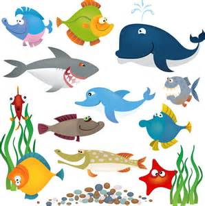 Sea Animals Clip Art Free