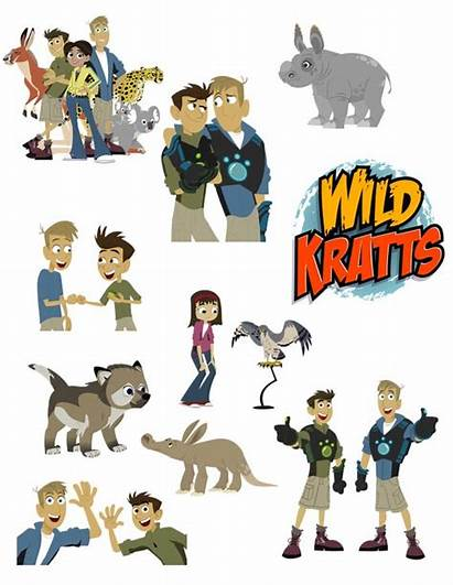 Kratts Wild Clip Animal Clipart Printable Birthday