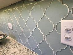 how to install a tile backsplash in kitchen pacifica arabesque glass mosaic tiles rocky point tile 9758