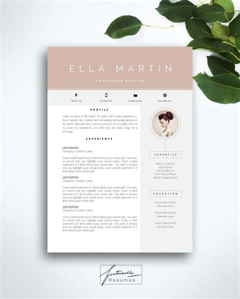 modèle cv pages mac best 25 cover letter template word ideas on