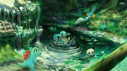 Pokemon Water Background