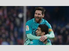 Golazos from Luis Suarez and Lionel Messi have Barceclona