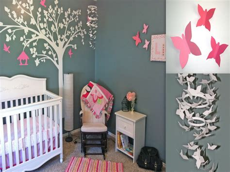 Diy Nursery Ideas With Gray Wall How To Decorate