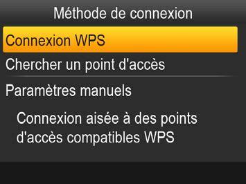 labo photo connexion de limprimante en wi fi  wps