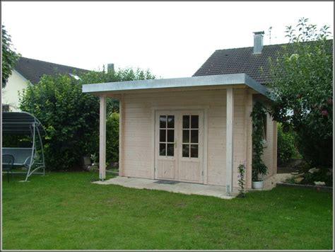 Wohnideen Gartenhaus gartenhaus mit flachdach das gartenhaus mit flachdach flachdach
