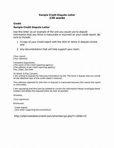 credit card dispute letter sample credit repair secrets With free credit repair letters templates