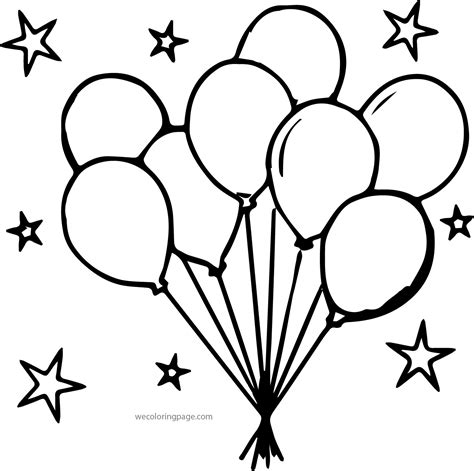 balloon coloring pages balloons coloring pages coloring pages