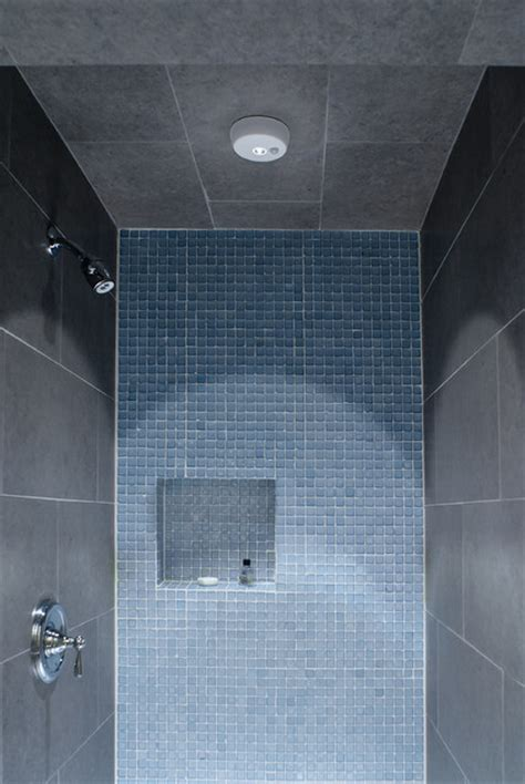 led shower lighting contemporary bathroom st louis