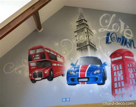 deco chambre ado londres chambres de garçons décoration graffiti page 2 sur 12