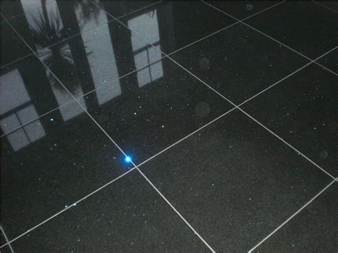 love  effect   black glitter quartz tiles