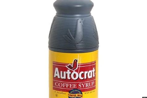 Autocrat coffee syrup, 32 oz. Coffee Milk: The Rhode Island Specialty Fueled By Autocrat Syrup