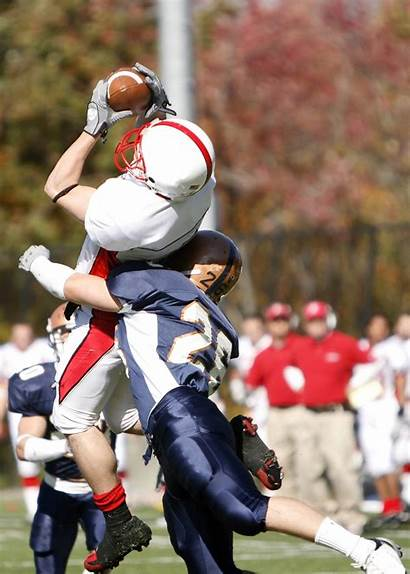 Football Tackle Concussion Players Injury Head Brain