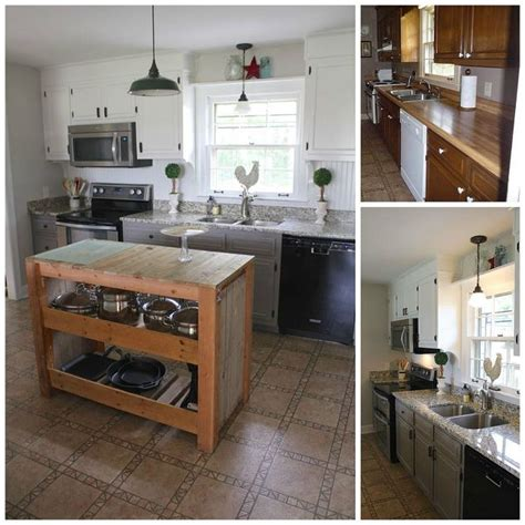 do it yourself kitchen makeover hometalk diy farmhouse kitchen makeover for 5000 including