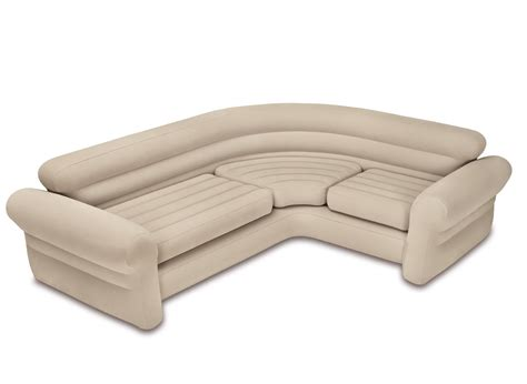 canapé gonflable ikea canapé sofa d 39 angle beige gonflable intex jardideco