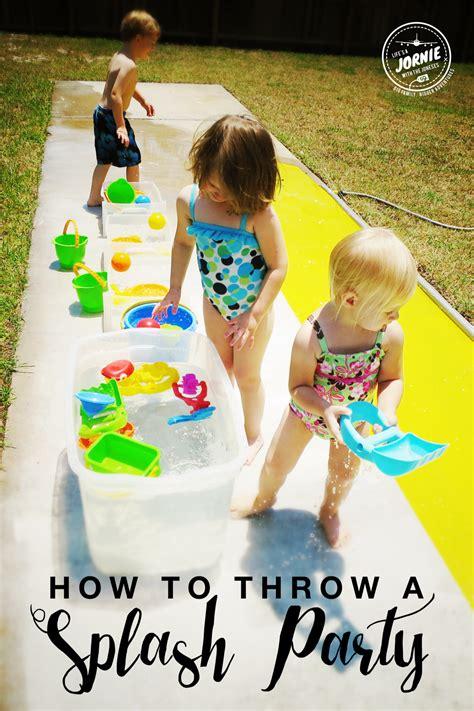 how to throw a splash activities for splash 789   446ea640a3218719a4ea40250c5febcb