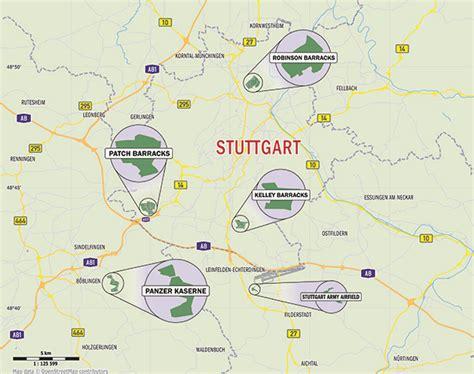 stuttgart on map map stuttgart area images