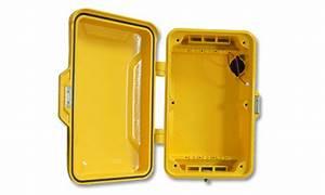 China Industrial Waterproof Telephone Box  Emergency Call Box  Outdoor Weatherproof Case