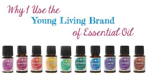Why I Use The Young Living Essential Oil Brand  The Well