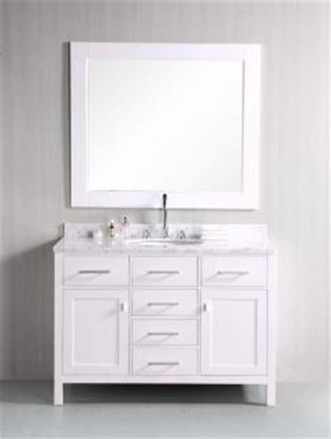 single sink bathroom vanity  pearl white