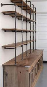 25+ best ideas about Industrial shelving on Pinterest
