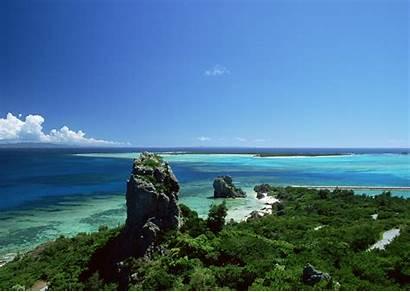 Beach Wallpapers Resolution Backgrounds Japan Landscape Okinawa