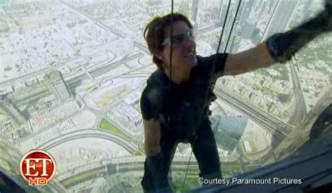Tom Cruise Climbs The Worlds Tallest Building Burj