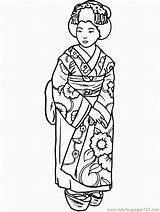 Coloring Japan Country Pages Coloringpages101 sketch template