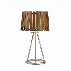 imax acacia wood shade table lamp l brilliant source lighting With acacia wood floor lamp