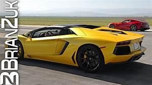 Ferrari Vs Lamborghini : ferrari f12 berlinetta vs lamborghini aventador youtube ~ Medecine-chirurgie-esthetiques.com Avis de Voitures