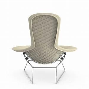 Fauteuil Haut Dossier : fauteuil haut dossier bird bertoia harry bertoia knoll inno design ~ Teatrodelosmanantiales.com Idées de Décoration