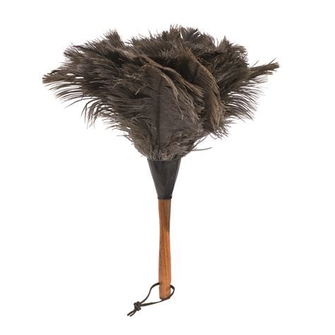 Small ostrich feather duster   le petit jardin