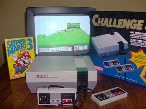 Original Nintendo Console by Nintendo Nes Console Challenge Set In Original Box