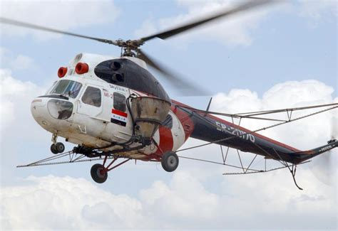 Mil Mi-2 (hoplite) Light Utility / Training Helicopter