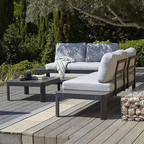 salon de jardin aluminium pas cher salon de jardin 5 places acatium en aluminium s garden salon de jardin la redoute iziva
