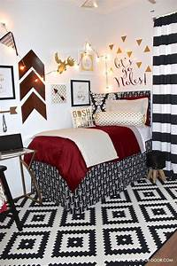 Ideas of black white and red wall art