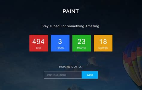 Coming Soon Web Page Templates by Bootstrap Html5 Coming Soon Web Template Webthemez