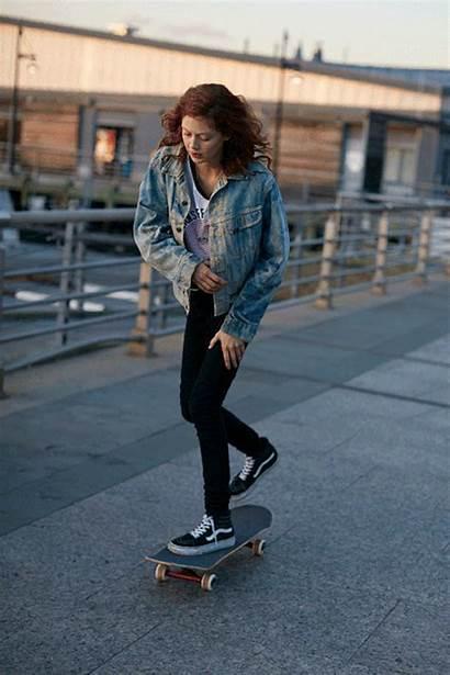 Vans Skater Skate Outfits Westling Natalie Modeling