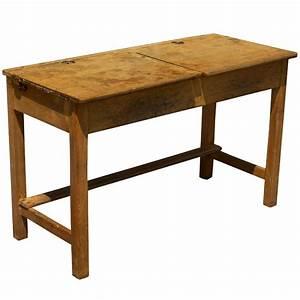"40"" Vintage Double Student Desk   eBay"