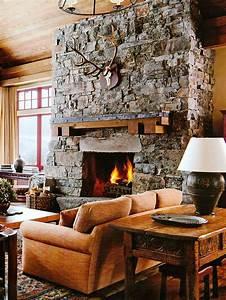 Rustic, Cabin, Interior, Design, Ideas