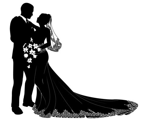 wedding couple clipart png   cliparts