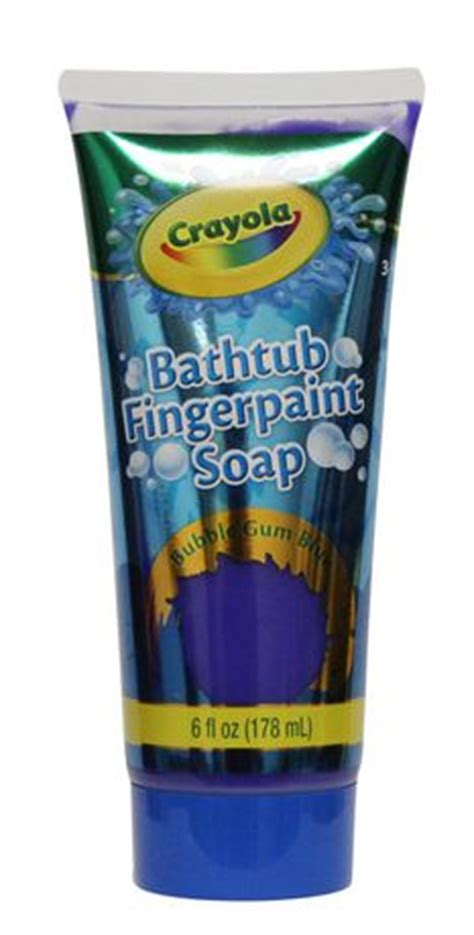 Finger Paint Bath Soap by Crayola Bathtub Fingerpaint Soap Assorted Colours