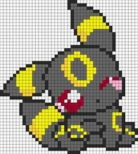 Minecraft Pokemon Pixel Art Grid … | Pinteres…