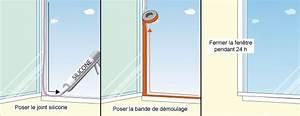 renover le joint d39une fenetre pvc ooreka With changer vitre porte fenetre pvc