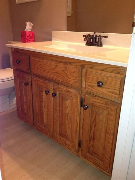 Cabinets, Honey and Bathroom on Pinterest
