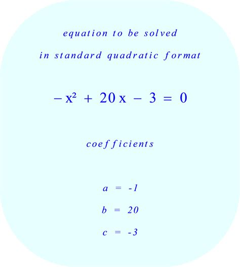 Solve Quadratic Equation