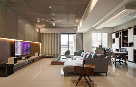 Contemporary Apartment : Modern Apartment Designs By Phase Design Studio