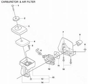 Husqvarna 128ld Carburetor Adjustment Diagram