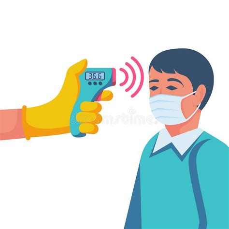 Infrared Thermometer Stock Illustrations – 1,053 Infrared ...
