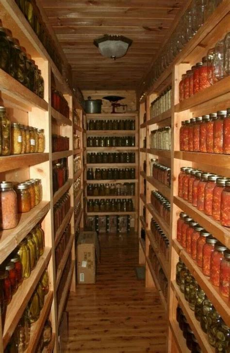 Basement Pantry Ideas Canning Pantry Canning Dehydrating Preserving