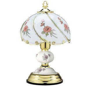 lampe de chevet verre sensitive design en image